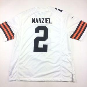 Nike Johnny Manziel Cleveland Browns NFL Jersey